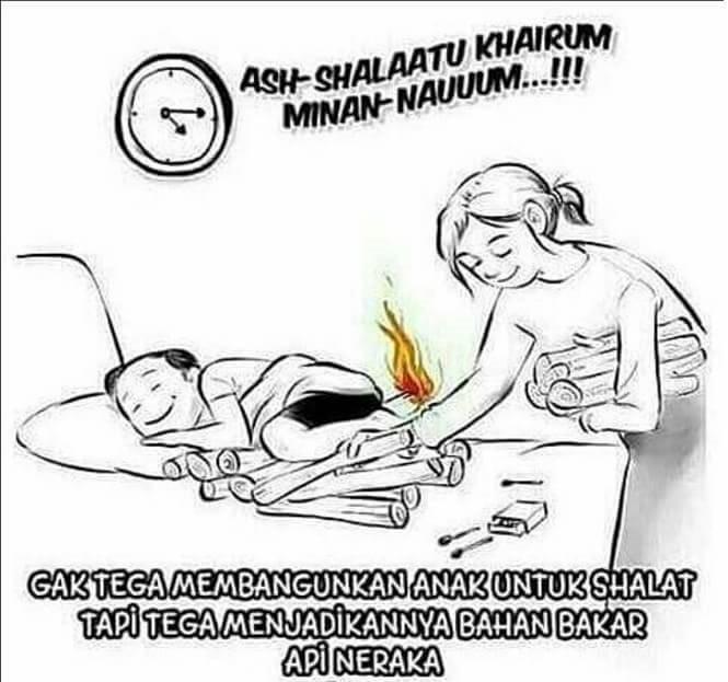 Peliharalah dirimu dan keluargamu dari api neraka