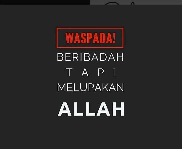 Ramadhan, ibadah wajib kadang dilalaikan,ibadah sunnah banyak ditinggalkan