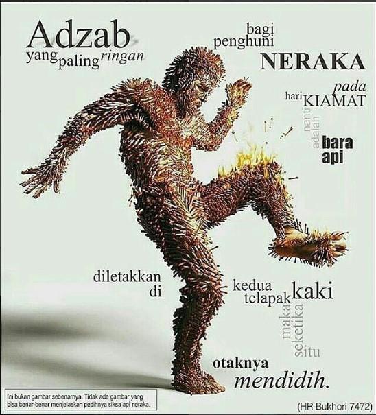 Azab Paling Ringan di Neraka
