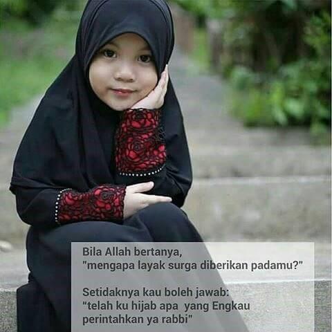 Hijab perintah nya Rabbku