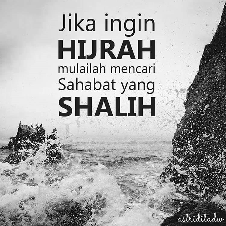 Memulai Hijrah dari sahabat yang shalih