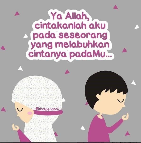 Jangan pernah letih mengulang-ngulang doa