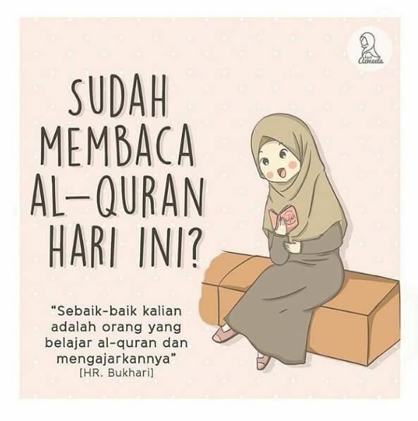 Sudahkah kamu membaca Al-Qur'an?